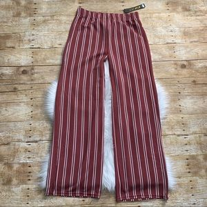 NWT New Mix striped trouser pants
